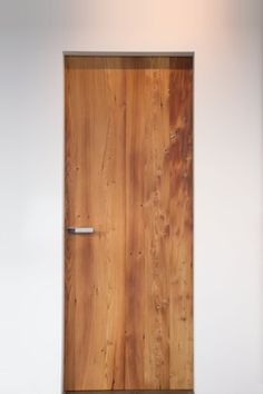"Door ""Phénix"" - contemporary - interior doors - other metro - Aldena windows and doors Frosted Glass Internal Doors, Internal Double Doors, Interior Window Trim, Oak Interior Doors, Contemporary Interior Doors, Contemporary Decor, Modern Interior, Custom Wood Doors, Wooden Doors"