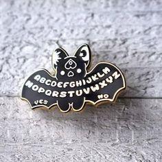 'Kawaii Ouija Bat' Pin