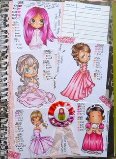 Craftymummy2five: Copic Color Journal