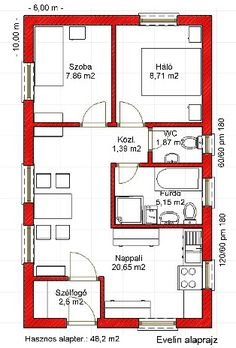 40x60 House Plans, House Layout Plans, Family House Plans, Bedroom House Plans, Dream House Plans, House Layouts, Small House Plans, House Floor Plans, Framing Construction