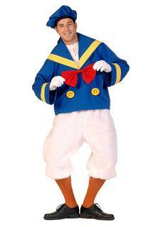 Herren Karneval Fasching Verkleidung Kostüm Protz Seemanns Kostüm NEU