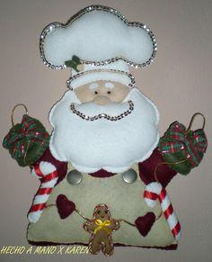 's santa shef album Santa Claws, Cool Websites, Snowman, Burlap, Diy, Christmas Ornaments, Halloween, Holiday Decor, Fabric