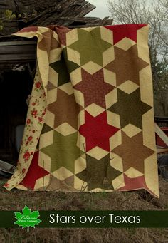 Stars Over Texas Quilt Pattern - Printed Instructions