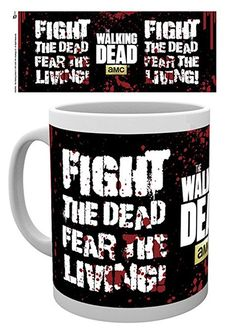 Walking Dead, The - Fight The Dead - Keramik Tasse - Größe Ø8,5 H9,5cm