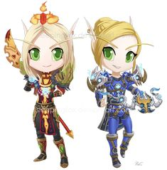 First pairing for . Their armor sets complimented each other well! Thank you!