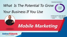Mobile Searches - The Increased Revenue Opportunity Mobile Marketing, Internet Marketing, Growing Your Business, Opportunity, Channel, Blog, Online Marketing