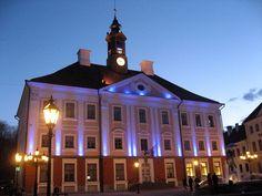 Rathaus von Tartu ◆Estland – Wikipedia http://de.wikipedia.org/wiki/Estland #Estonia