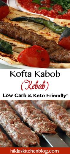 delicious blend of beef, lamb, herbs and spices, as good if not better than restaurant-style kabobs (kebab). Seekh Kebab Recipes, Beef Kabob Recipes, Shish Kebab, Lamb Recipes, Cooking Recipes, Beef Seekh Kabab Recipe, Turkish Recipes, Indian Food Recipes, Ethnic Recipes