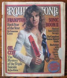 Vintage Rolling Stone Magazine Covers | Vintage-Rolling-Stone-Feb-1977-232-Peter-Frampton-cover