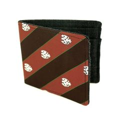 Upcycled Necktie and wool fabric into a Wallet