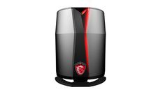 MSI ships its Mac Pro-like Vortex gaming PC. You can get a ton of gaming power in a small tube.