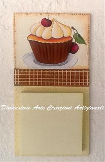 Mollettoni e Post-it. Post It, Wood Crafts, Diy Crafts, Country Paintings, Cup Cakes, Painting On Wood, Ideas Para, Applique, Scrap