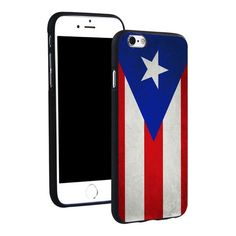 New Puerto Rico Flag Phone Ring Holder Soft Silicone Case Cover For iPhone 4 4S 5C 5 SE 5S 6 6S 7 Plus