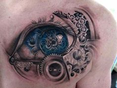steampunk tattoo chest - Sök på Google