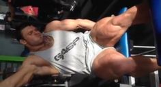 Russian Bodybuilder Aleksandr Schukin Gives Us A Glimpse Into His Gym Workout