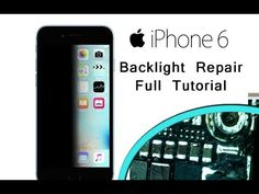 iPhone 6 Repair the Backlight of the screen Full Tutorial / отремонтиров...