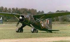 Resultado de imagen de avion westland lysander