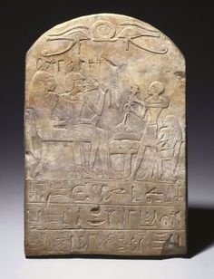 Stela of User-pekhty-nisu and his wife, Pa-netjer :Medium: Limestone Place Made: Saqqara, Egypt Dates: ca. Dynasty: early XVIII Dynasty Period: New Kingdom Ancient Egyptian Art, Ancient History, Egypt News, Statues, Museum Studies, Monuments, Ancient Mysteries, Sculpture, Archaeology