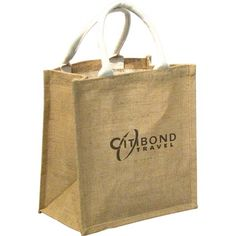 Promotional Biodegradable Jute Multipurpose Shopper Bag is made from 100% sustainable, renewable and biodegradable jute.