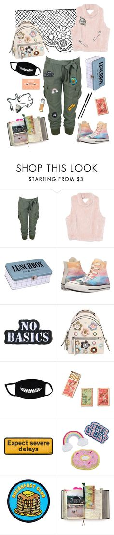 """""""Now I feel that I married a ghost"""" by forever-confused ❤ liked on Polyvore featuring Nolita, House Doctor, Converse, Hollywood Mirror, Fendi, Shandell's, Anya Hindmarch, Goblinko Megamall and Suck"""