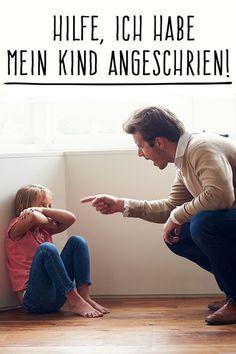 Was du tun solltest, wenn du dein Kind angeschrien hast. #erziehung #familie #kinder