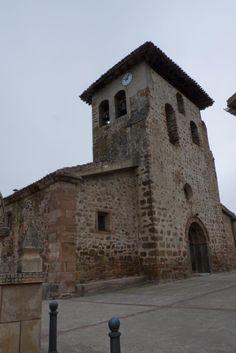 Iglesia de Santa Cruz del Valle Urbión - Burgos  por Raúl Peñaranda Camarero