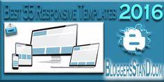 2016 Top Best 55  Responsive Blogger Templates Download