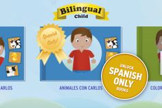 Bilingual Child -a great app for kids 1 - 4 to learn the Spanish/English language Study Spanish, Spanish English, Foreign Language, English Language, Online Spanish Classes, Learning Spanish For Kids, Learning Apps, Early Childhood Education, Ell