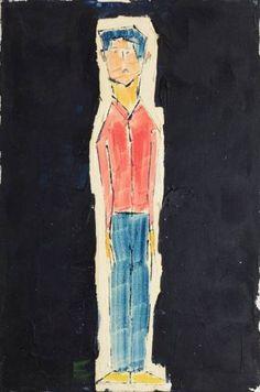 "Saatchi Art Artist Reuven Dattner; Painting, ""Stressed"" #art"
