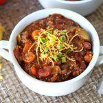 Vegetarian Quinoa Chili - Two Peas and Their Pod