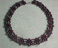 Free pattern for necklace Juliette | Beads Magic:
