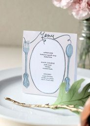 Printables: Escort Cards & Tabletop - The Hot Mess Handbook: A Guide for the Unorganized Bride
