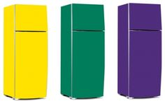 Vinil para envelopar geladeira Cozinha mais alegre e colorida! 1