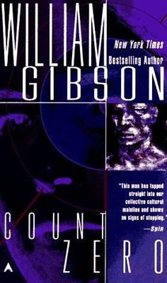Count Zero by William Gibson, 1986.  Haven't read this one yet, anything by Gibson = classic though.