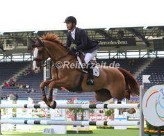 Zwei neue Pferde für Olympia? Rodrigo Pessoa kauft ein... http://reiterzeit.de/tag/rodrigo-pessoa/ Foto: Pessoa u. Ferro Chin V. Lindenhof in Aachen 2015