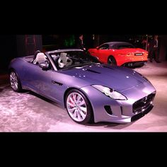 2014 Jaguar F-Type my new car, same color. A tru-Brit
