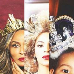 Tina Beyoncé & Blue Ivy