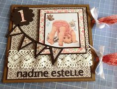 Randis hobbyverden: Bursdagskort til en ettåring