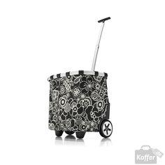 Reisenthel Shopping carrycruiser fleur black