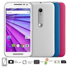 Me gustó este producto Motorola Moto G 3ra Generaci�n 16GB Blanco Celular Libre. ¡Lo quiero!