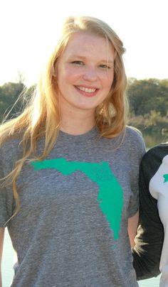 FLORIDA XL Born & Raised TShirt Native Home Pride by arosyoutlook, $24.95