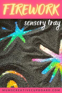 Sensory Activities For Preschoolers, Diwali Activities, Eyfs Activities, Nursery Activities, Autumn Activities, Preschool Activities, Bonfire Night Activities, Bonfire Night Crafts, Fireworks Craft For Kids