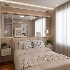 """438 curtidas, 10 comentários - Arquiteta Natalia Salla (@nataliasalla.arq) no Instagram: """"Sou apaixonada por esse quarto do @mandrilarquitetura ! Base cinza claro e madeira pra aquecer…"""""""