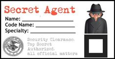Have a kids birthday party coming up? I've got an idea for you! The secret agent themed birthday party is perfect for boys and girls of all ages. Spy Birthday Parties, Spy Party, Birthday Ideas, Party Time, Escape Room, Animation Soiree, Secret Agent Party, Detective Theme, Mission Possible