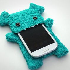 This frizzy little monster phone case. | 31 Fluffy Things That'll Restore Your Faith In Winter