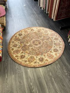 Circle Rug, Classic Rugs, Round Rugs, Traditional Rugs, Persian Rug, Pattern Fashion, Oriental Rug, Wool Rug, Beige