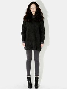 www.koreanfashionista.com #koreanfashion #clothes #style #outfit #knitwear