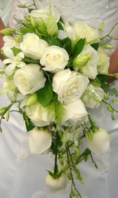 'Tear Drop' Bridal Bouquet