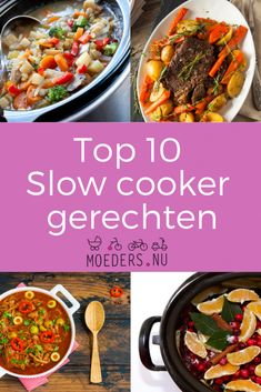 The tastiest dishes you can prepare in the slow cooker.nu 10 f . - The tastiest dishes you can prepare in the slow cooker. Slow Cooker Pasta, Healthy Slow Cooker, Crock Pot Slow Cooker, Healthy Crockpot Recipes, Slow Cooker Recipes, Best Meatloaf, Multicooker, Healthy Meals For Two, Easy Cooking