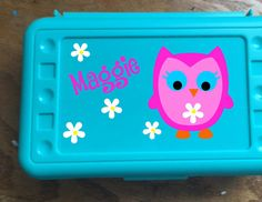 Back to School Owl Design Personalized by PersonalizedbyDawn